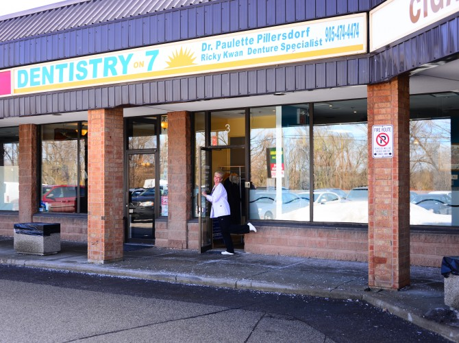 Dentistryon7 Office Outside2 | Dentistry On 7 - Unionville